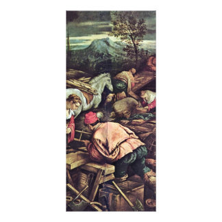 Construction Of Noah'S Ark By Jacopo Da Ponte (Bes Custom Rack Cards