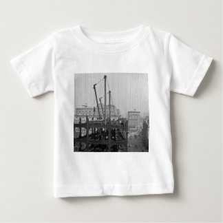 Construction of One Times Square New York City Baby T-Shirt