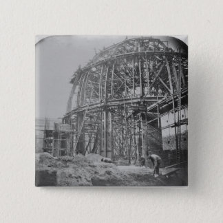 Construction of the British Museum Reading Pinback Button