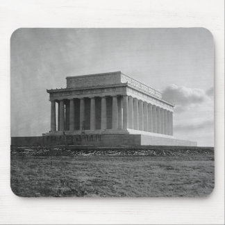 Construction of The Lincoln Memorial (1920) Mouse Pad