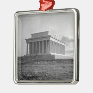 Construction of The Lincoln Memorial (1920) Christmas Ornaments