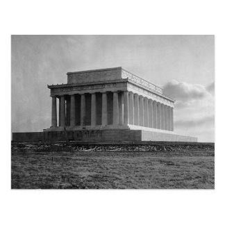 Construction of The Lincoln Memorial (1920) Postcard