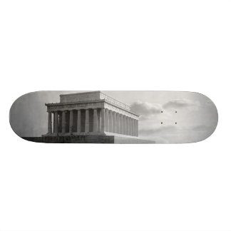 Construction of The Lincoln Memorial (1920) Skateboard