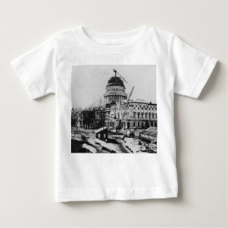 Construction of the U.S. Capitol Dome Baby T-Shirt