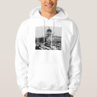 Construction of the U.S. Capitol Dome Hoodie