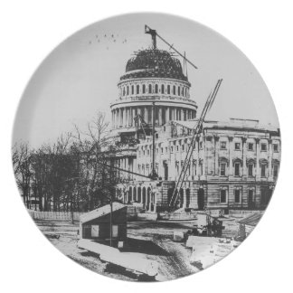 Construction of the U.S. Capitol Dome Plates