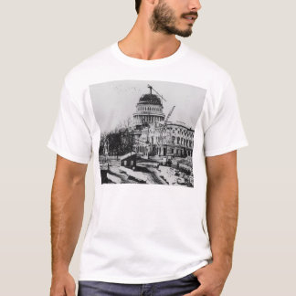 Construction of the U.S. Capitol Dome T-Shirt