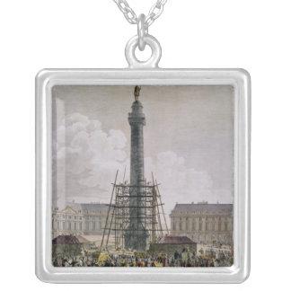 Construction of the Vendome Column in 1803-10 Custom Jewelry