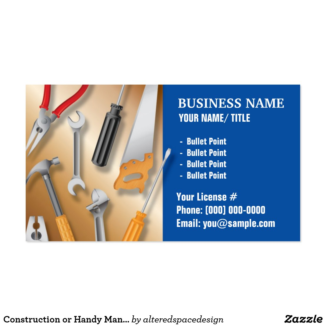 Gallery For gt Handyman Logos Business Cards