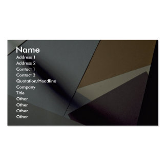 Construction paper Double-Sided standard business cards (Pack of 100)
