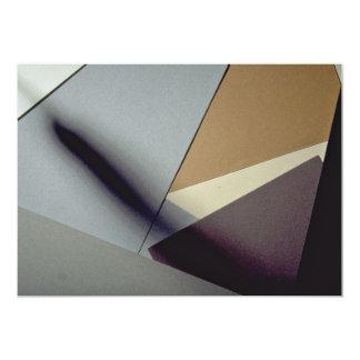 Construction paper custom invite