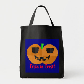 Construction Paper Pumpkin Bag