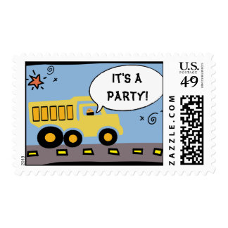 Construction Party Postage