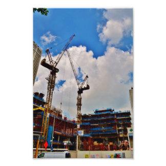 Construction Photographic Print