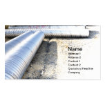 construction piping Double-Sided standard business cards (Pack of 100)