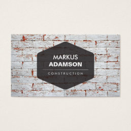 Construction, Repair, Handyman Business Card
