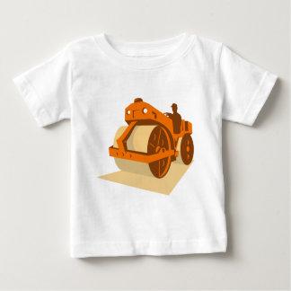 construction road roller retro baby T-Shirt