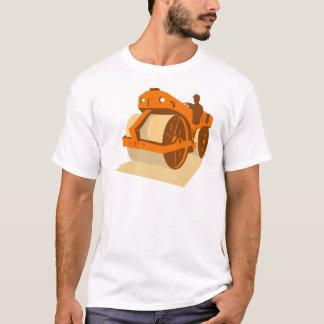 construction road roller retro T-Shirt