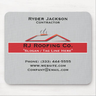 Construction Roofing Mouse Pad