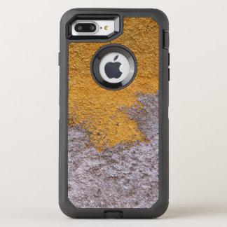 Construction Rough Beton Surface Grey Yellow OtterBox Defender iPhone 8 Plus/7 Plus Case