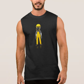 Construction Safety Accessories Sleeveless Shirt