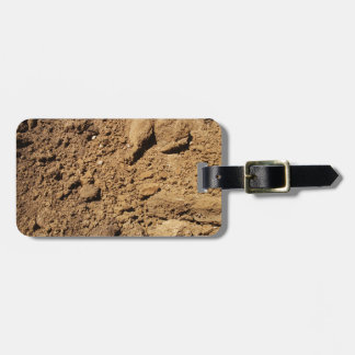 Construction Site Dirt Luggage Tags