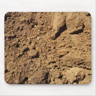 Construction Site Dirt  Mousepad