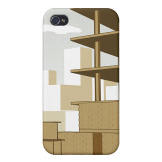 Construction Site iPhone 4 Cases