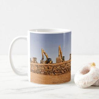 Construction Site Panorama Coffee Mug