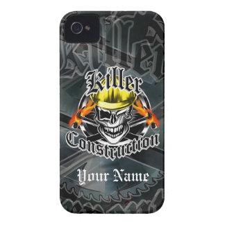 Construction Skull: Killer Construction iPhone 4 Case