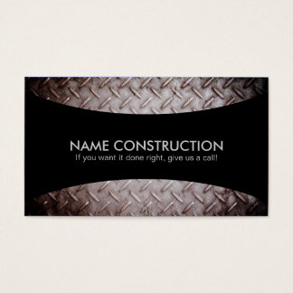 Construction Slogans Business Cards