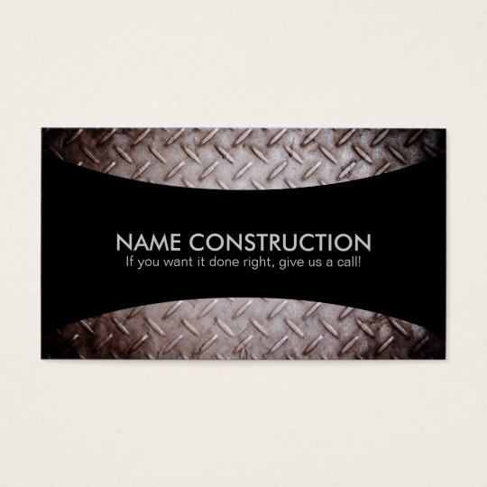 Construction Slogans Business Cards Zazzle Com
