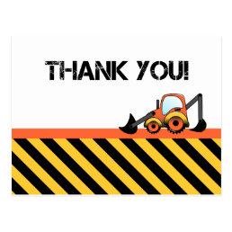 Construction Thank You Cards