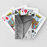 Construction Theme Digital Art. Bicycle Poker Deck