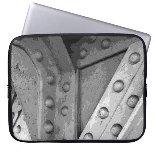 Construction Theme Digital Art. Laptop Sleeves