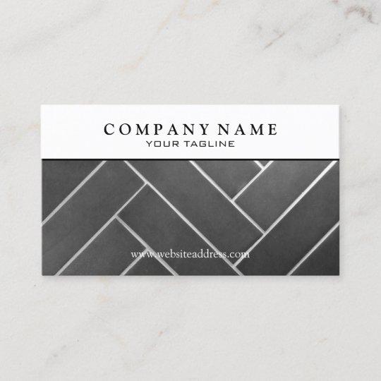 Construction tile installer business card zazzle construction tile installer business card reheart Gallery