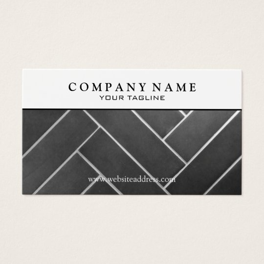 Construction tile installer business card zazzle construction tile installer business card reheart Choice Image