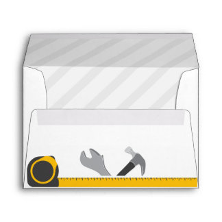Construction Tools Envelope