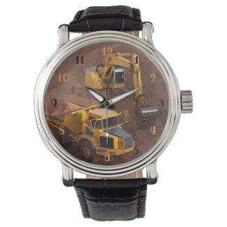 Construction Tractors Watch