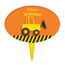 Construction Truck Cake Topper