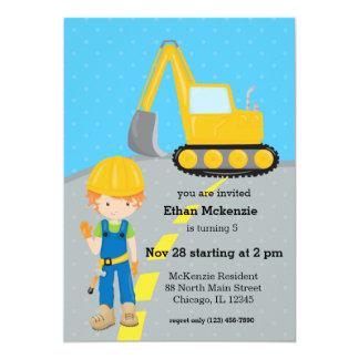 Construction truck card