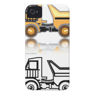 Construction truck iPhone 4 Case-Mate case