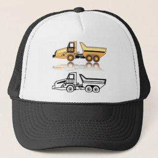 Construction truck trucker hat