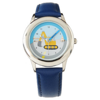 Construction truck wristwatch