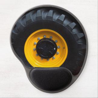 Construction Wheel Gel Mouse Pad