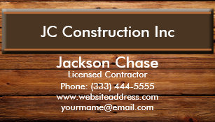 Wood grain business cards templates zazzle construction wood grain business card magnet colourmoves