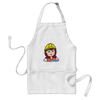 Construction Worker Adult Apron