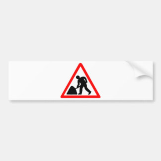 Construction Worker Bumper Stickers
