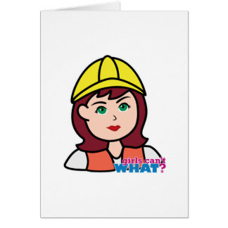 Construction Worker Card