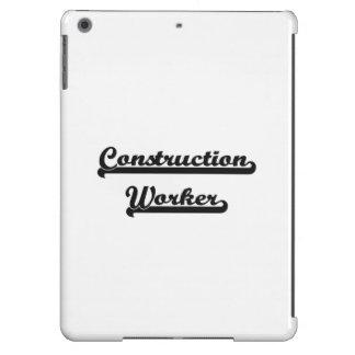 Construction Worker Classic Job Design iPad Air Covers